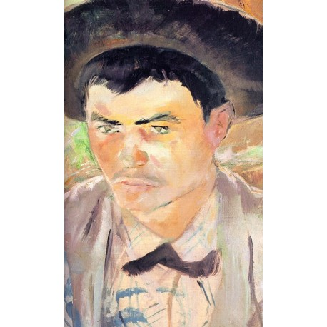 The Young Routy 1883 by Henri de Toulouse-Lautrec-Art gallery oil painting reproductions