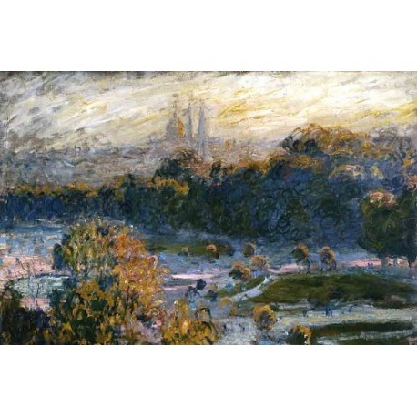 The Tuileries by Claude Oscar Monet - Art gallery oil painting reproductions