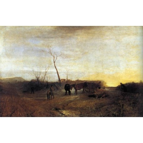 Frosty Morning by Joseph Mallord William Turner - Art gallery oil painting reproductions