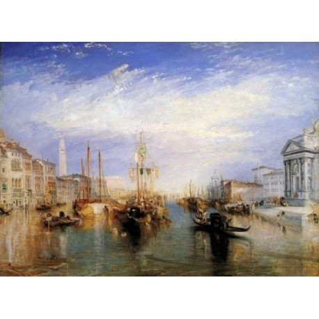 The Grand Canal Venice 1835 by Joseph Mallord William Turner - Art gallery oil painting reproductions