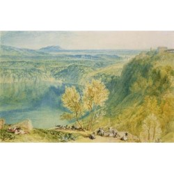 Lake Nemi by Joseph Mallord William Turner - Art gallery oil painting reproductions