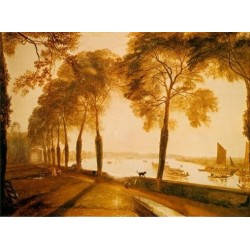 Mortlake Terrace by Joseph Mallord William Turner - Art gallery oil painting reproductions