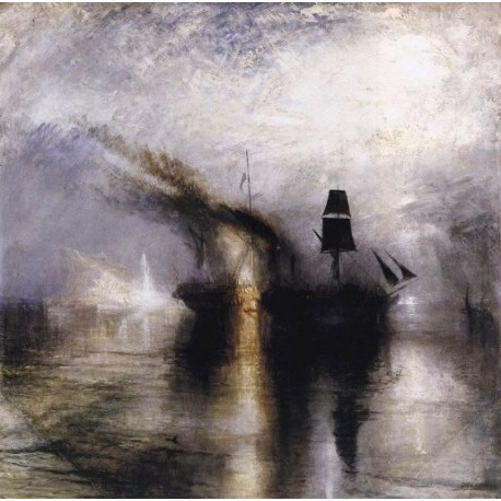Peace Burial at Sea 1842 by Joseph Mallord William Turner - Art gallery oil painting reproductions