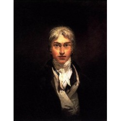 Self Portrait 1799 by Joseph Mallord William Turner - Art gallery oil painting reproductions