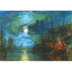 Shields on the River Tyne by Joseph Mallord William Turner-Art gallery oil painting reproductions
