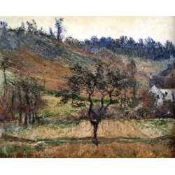 The Valley of Falaise by Claude Oscar Monet - Art gallery oil painting reproductions
