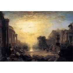 The Decline of the Carthaginian Empire-1817 by Joseph Mallord William Turner - Art gallery oil painting reproductions