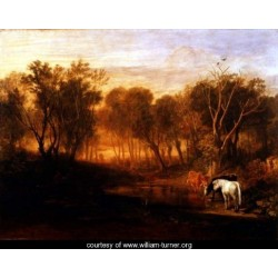 The Forest of Bere 1808 by Joseph Mallord William Turner - Art gallery oil painting reproductions