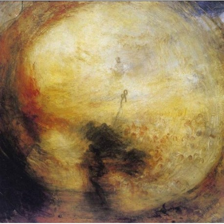 The Morning after the Deluge-1843 by Joseph Mallord William Turner - Art gallery oil painting reproductions