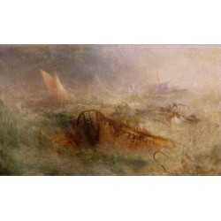The-Storm 1840-45 Joseph Mallord William Turner - Art gallery oil painting reproductions