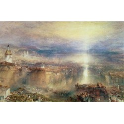 Zurich by Joseph Mallord William Turner - Art gallery oil painting reproductions