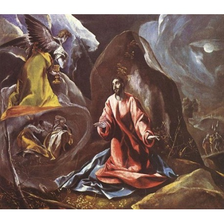 Agony in the Garden by El Greco-Art gallery oil painting reproductions