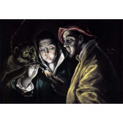 Fable by El Greco-Art gallery oil painting reproductions