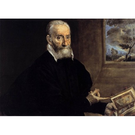 Giulio Clovio by El greco-Art gallery oil painting reproductions