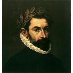 Poet Ercilla y Zniga by El Greco-Art gallery oil painting reproductions