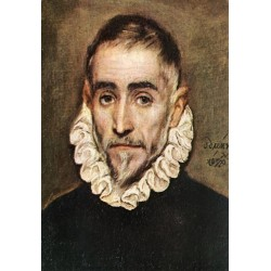 Portrait of an Elder Nobleman by El Greco-Art gallery oil painting reproductions