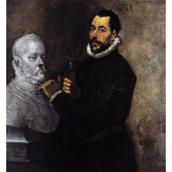Portrait of a Sculptor by El Greco-Art gallery oil painting reproductions