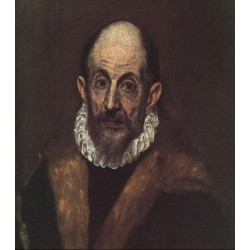 Self Portrait by El Greco-Art gallery oil painting reproductions