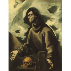 St Francis Receiving the Stigmata by El Greco-Art gallery oil painting reproductions