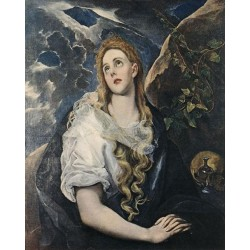 St Mary Magdalene by El Greco-Art gallery oil painting reproductions