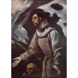 The Ecstasy of St Francis by El Greco-Art gallery oil painting reproductions