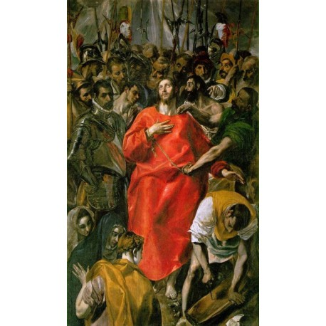 The Spoliation by El Greco-Art gallery oil painting reproductions