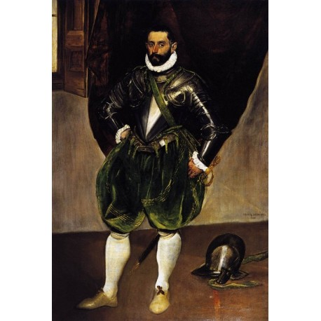 Vincenzo Anastagi by El Greco-Art gallery oil painting reproductions