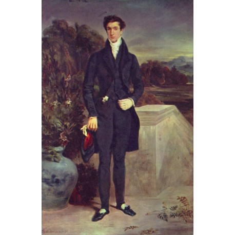 Baron Schwiter by Eugène Delacroix-Art gallery oil painting reproductions