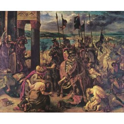 Entry of the Crusaders in Constantinople, 1840 by Eugène Delacroix-Art gallery oil painting reproductions