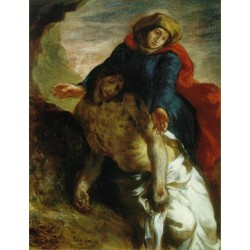 Pieto by Eugène Delacroix-Art gallery oil painting reproductions