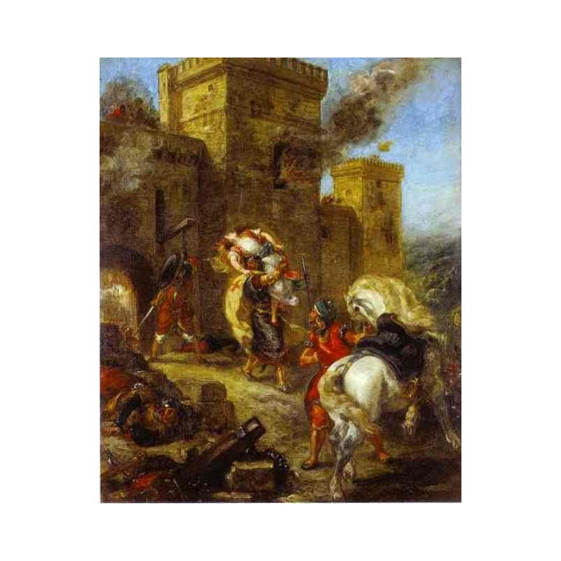 the history and visual elements of the abduction of rebecca a painting by eugene delacroix Search the history of over 327 billion web pages on the internet  full text of romantic art see other formats.
