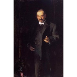 Asher Wertheimer, 1898 by John Singer Sargent - Art gallery oil painting reproductions
