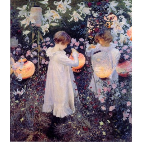 Carnation Lily Lily Rose 1885-86 by John Singer Sargent - Art...