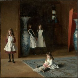 Daughters of Edward Darley Boit by John Singer Sargent - Art gallery oil painting reproductions
