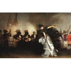 El Jaleo 1882 by John Singer Sargent - Art gallery oil painting reproductions