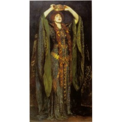 Ellen Terryas Lady Macbeth 1889 by John Singer Sargent - Art gallery oil painting reproductions