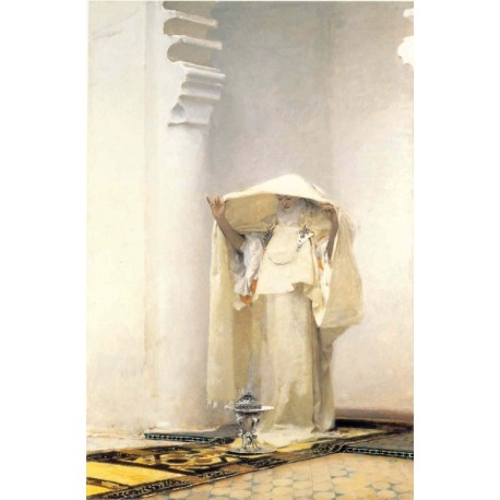 Fumée d'Ambre Gris 1880 by John Singer Sargent - Art gallery oil painting reproductions