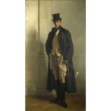 Lord Ribblesdale 1902 by John Singer Sargent - Art gallery oil painting reproductions