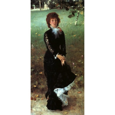 Madame Edouard Pailleron 1879 by John Singer Sargent - Art gallery oil painting reproductions