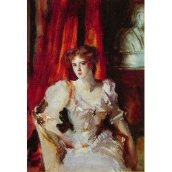 Miss Eden 1905 by John Singer Sargent - Art gallery oil painting reproductions