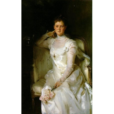 Mrs. Joshua Montgomery Sears 1899 by John Singer Sargent - Art gallery oil painting reproductions