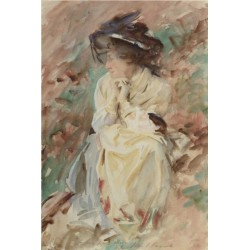 Portrait of Miss Eliza Wedgewood 1905 by John Singer Sargent - Art gallery oil painting reproductions