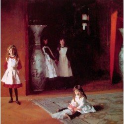 The Daughters of Edward Darley Boit 1882 by John Singer Sargent - Art gallery oil painting reproductions