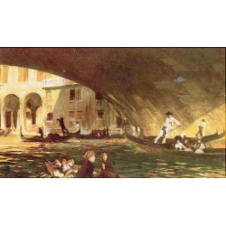 The Rialto Venice 1911 by John Singer Sargent - Art gallery oil painting reproductions