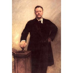 Theodore Roosevelt 1903 by John Singer Sargent - Art gallery oil painting reproductions