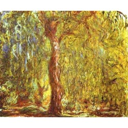 Weeping Willow by Claude Oscar Monet - Art gallery oil painting reproductions