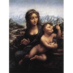 Madonna with the Yarnwinder by Leonardo Da Vinci - Art gallery oil painting reproductions