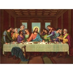 Picture of The Last Supper II by Leonardo Da Vinci-Art gallery oil painting reproductions
