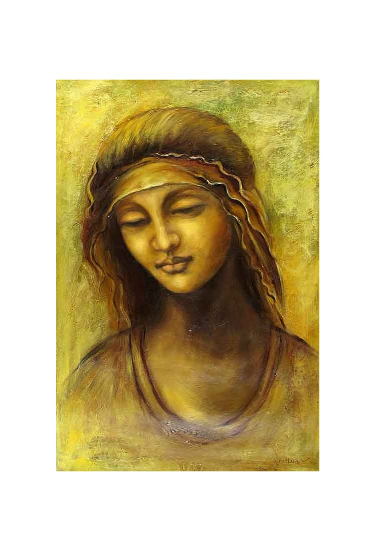 St Anne By Leonardo Da Vinci Art Gallery Oil Painting