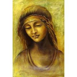 St. Anne by Leonardo Da Vinci-Art gallery oil painting reproductions